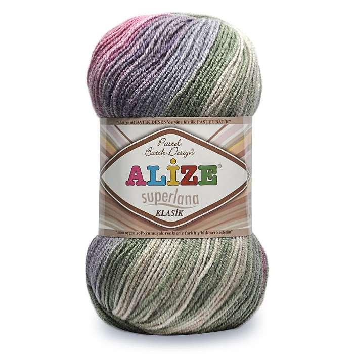 Alize : ALIZE Superlana Klasik Batik