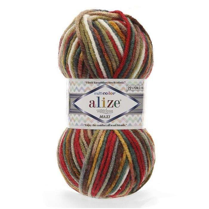 ALIZE Superlana Maxi Multi Color